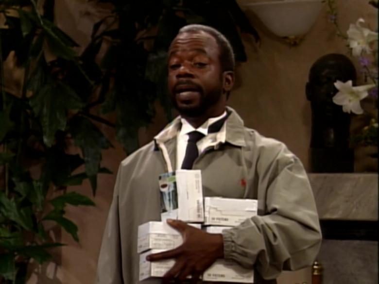 Joseph Marcell as Geoffrey Butler Wears Ralph Lauren Jacket in The Fresh Prince of Bel-Air S02E01 (1)