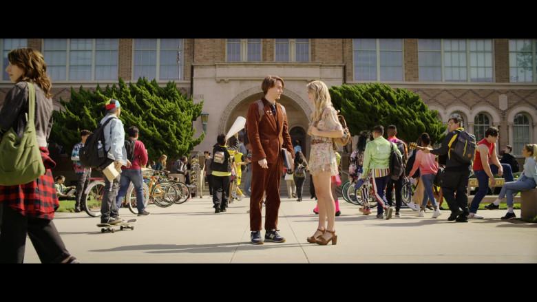 Judah Lewis as Cole Wears New Balance Shoes in The Babysitter Killer Queen Netflix Film (1)