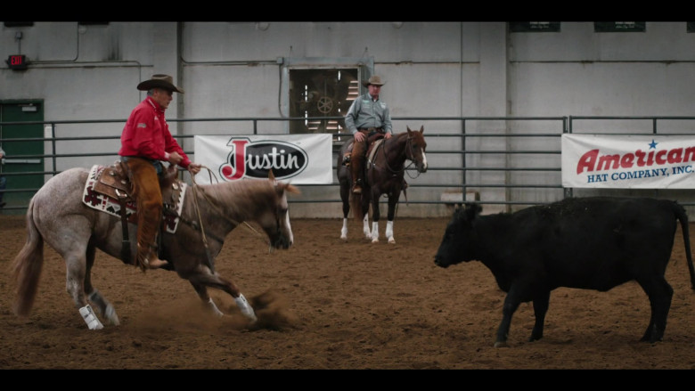 Justin Boots and American Hat Company in Yellowstone S03E08
