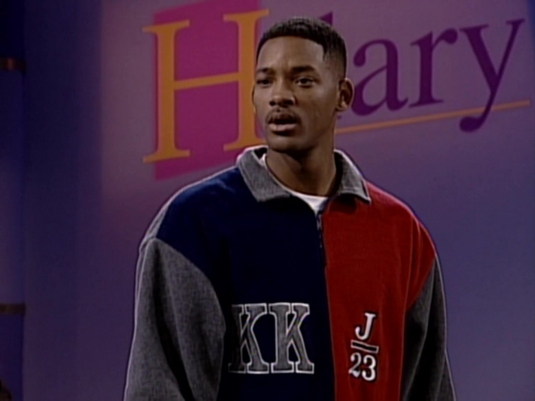 Karl Kani J 23 Fleece Jacket Sweatshirt Worn by Will Smith in The Fresh Prince of Bel-Air S06E11 (3)