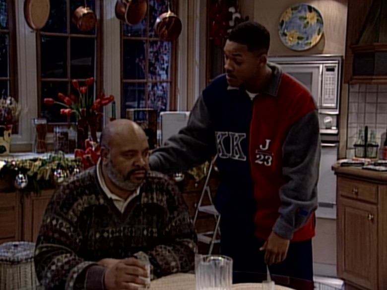 Karl Kani J 23 Fleece Jacket Sweatshirt Worn by Will Smith in The Fresh Prince of Bel-Air S06E11 (4)