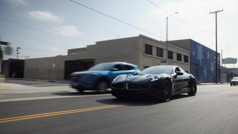 Karma Revero GT Black Sports Car in Agents of S.H.I.E.L.D. S07E13 TV Show (1)