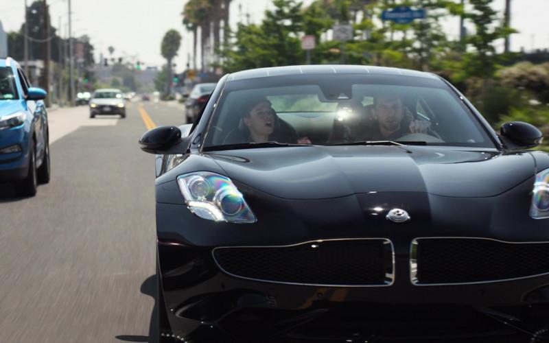 Karma Revero GT Black Sports Car in Agents of S.H.I.E.L.D. S07E13 TV Show (2)