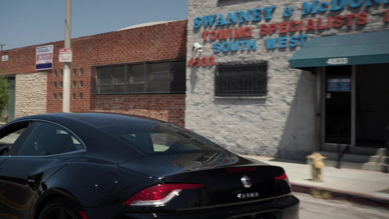 Karma Revero GT Black Sports Car in Agents of S.H.I.E.L.D. S07E13 TV Show (3)