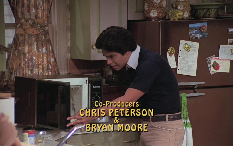 Kenmore Microwave Oven in That '70s Show S06E06