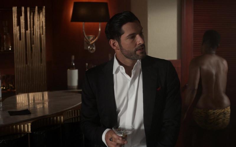 Ketel One Vodka Enjoyed by Tom Ellis in Lucifer S05E01