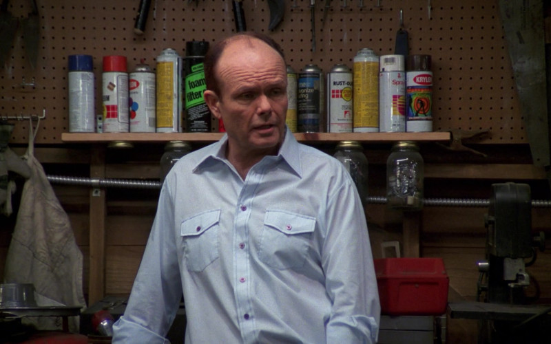 Krylon Spray Paint of Kurtwood Smith as Red Forman in That '70s Show S02E25