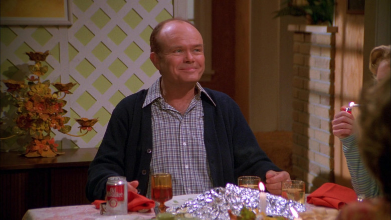 Kurtwood Smith as Red Forman Enjoying Old Milwaukee Beer in That '70s Show S01E09