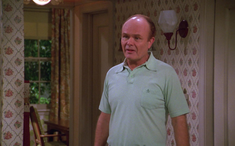 Kurtwood Smith as Red Forman Wears Original Penguin Green Short Sleeved Shirt Outfit