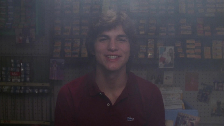 Lacoste Polo Shirt Worn by Ashton Kutcher as Michael Kelso in That '70s Show S04E07 (1)