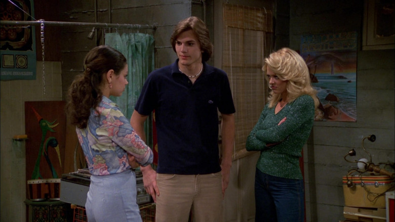 Lacoste Shirt Outfit Worn by Ashton Kutcher as Michael Kelso in That '70s Show S02E24 (3)