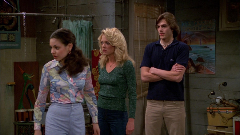 Lacoste Shirt Outfit Worn by Ashton Kutcher as Michael Kelso in That '70s Show S02E24 (4)