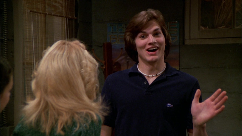 Lacoste Shirt Outfit Worn by Ashton Kutcher as Michael Kelso in That '70s Show S02E24 (5)