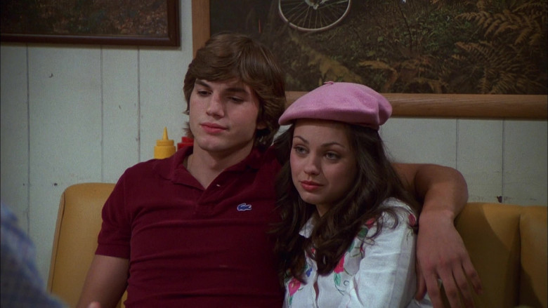 Lacoste Shirt Outfit Worn by Ashton Kutcher as Michael Kelso in That '70s Show S04E05 (4)