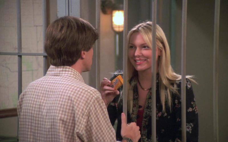 Laura Prepon as Donna Pinciotti Eats Milk Duds Candy by The Hershey Company in That '70s Show