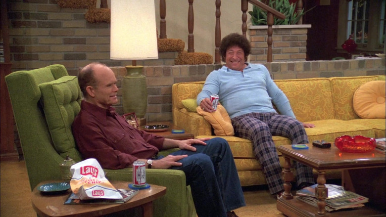 Lay's Chips Enjoyed by Kurtwood Smith as Red & Don Stark as Bob in That '70s Show (2)
