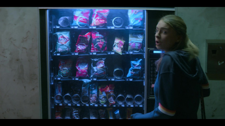 Lay's Chips, Takis, Doritos, Cheetos, Hershey's, M&M's in Teenage Bounty Hunters TV Show