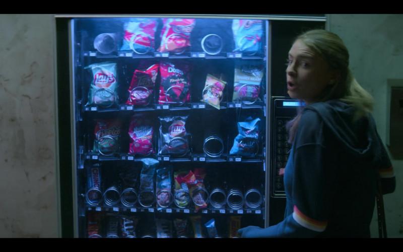 Lay's Chips, Takis, Doritos, Cheetos, Hershey's, M&M's in Teenage Bounty Hunters TV Show