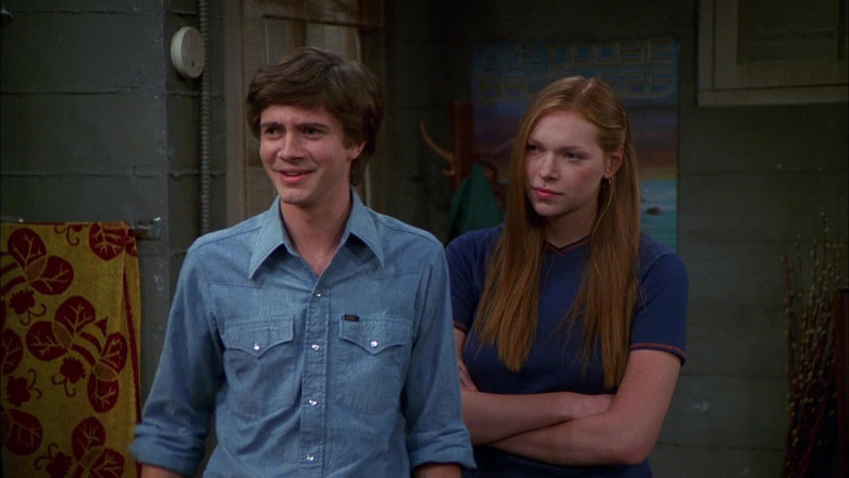 Lee Blue Shirt Outfit of Topher Grace as Eric in That '70s Show S04E05 (3)