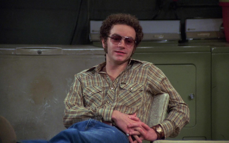 Lee Plaid Shirt of Danny Masterson as Steven Hyde in That '70s Show