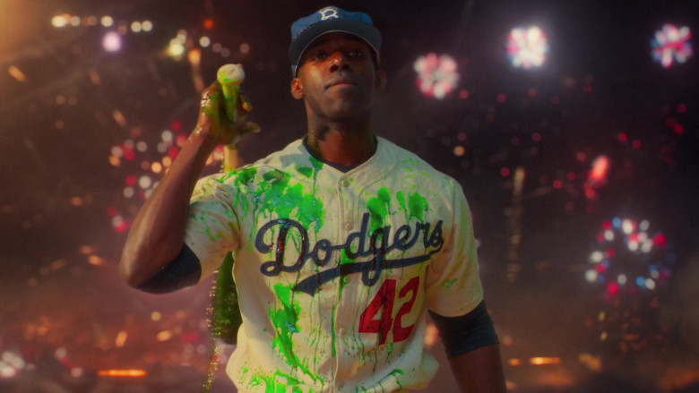 Los Angeles Dodgers Professional Baseball Team in Lovecraft Country S01E01
