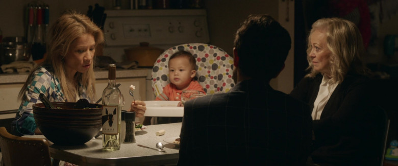 Lucy Liu and Jacki Weaver Enjoying Okapi Sauvignon Blanc Wine in Stage Mother (2020)