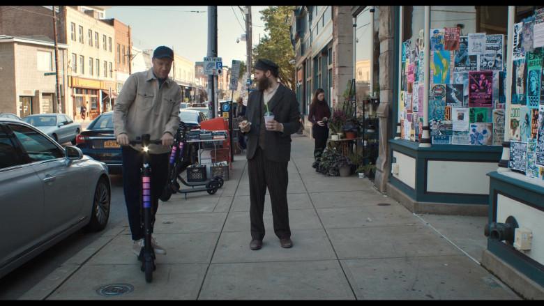 Lyft Scooter Used by Seth Rogen