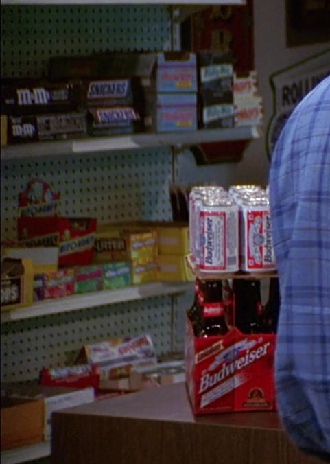 M&M's, Snickers and Budweiser Beer in That '70s Show