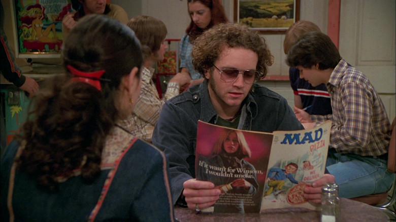 Mad Magazine of Danny Masterson as Steven Hyde in That '70s Show S02E26 (2)