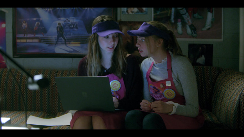 Maddie Phillips as Sterling & Anjelica Bette Fellini as Blair Using Microsoft Surface Laptop