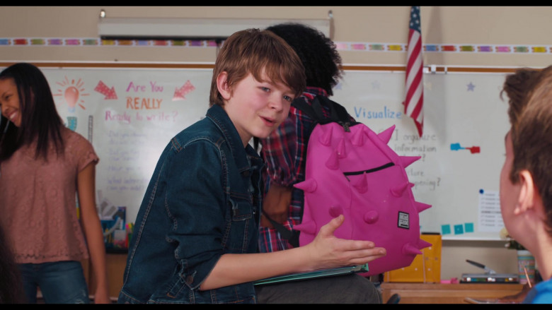 Madpax Spiked Pink Backpack in The War with Grandpa Movie