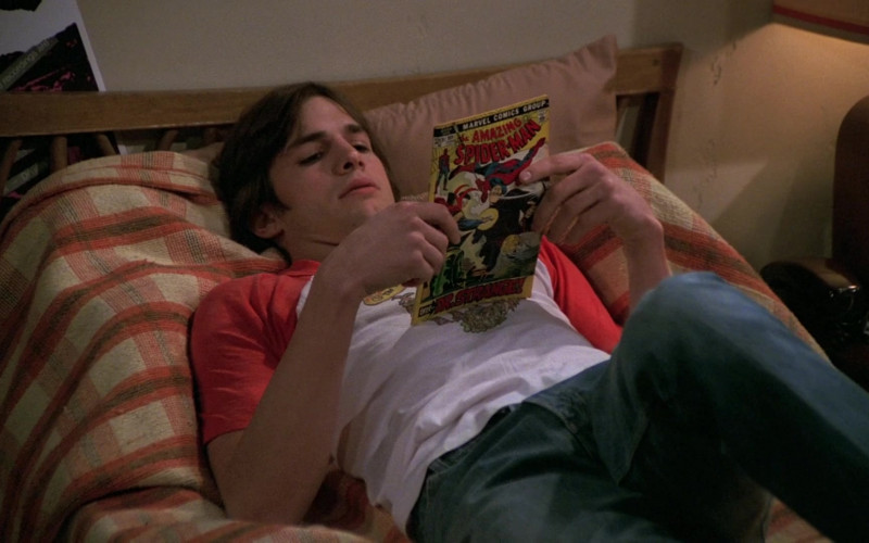 Marvel Comics Group Amazing Spider-Man of Ashton Kutcher as Michael in That '70s Show