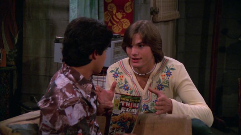 Marvel Comics of Wilmer Valderrama as Fez in That '70s Show S02E01
