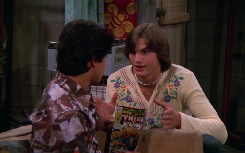 Marvel Comics in That '70s Show S02E01