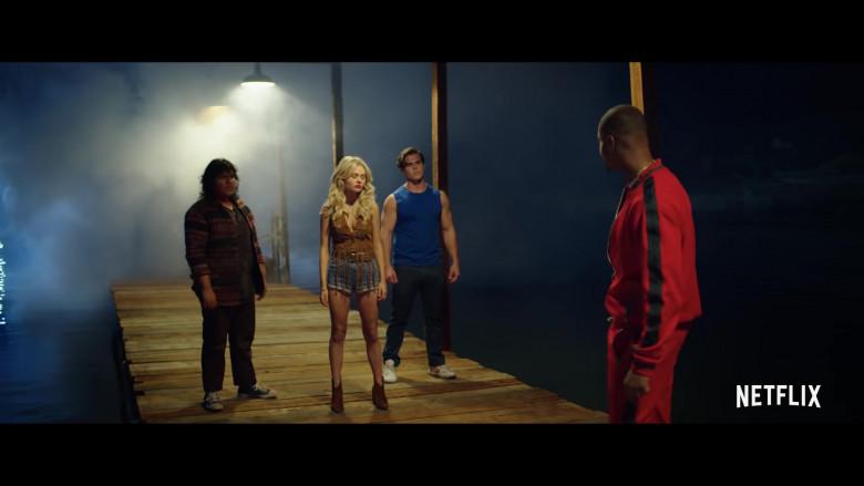 Maximilian Acevedo as Jimmy Wears Converse Shoes in The Babysitter Killer Queen (2020) Movie by Netflix