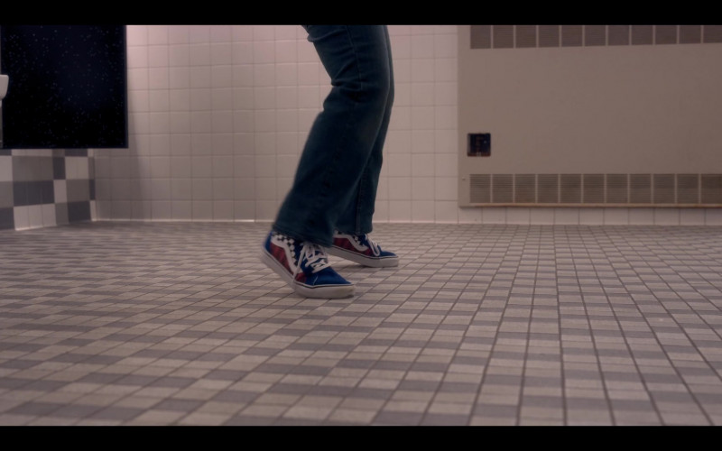Maxwell Simkins as Kevin Wears Vans Sneakers in The Sleepover Netflix Movie (1)