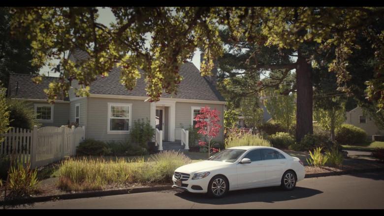 Mercedes-Benz C-Class White Car of Quintessa Swindell as Tabitha Foster in Trinkets S02E02