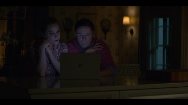 Microsoft Surface Laptop Used by Mackenzie Astin as Anderson & Virginia Williams as Debbie