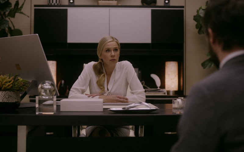 Microsoft Surface Studio All-In-One Computer Used by Anne Dudek as Kate in Corporate S03E04