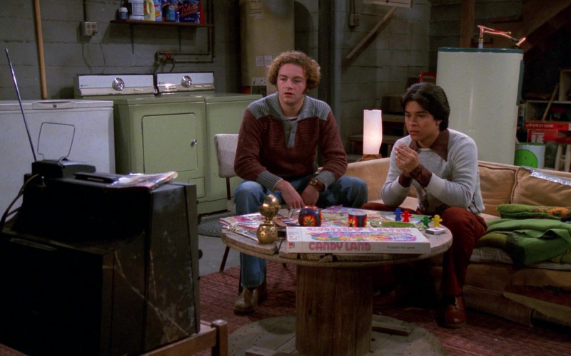 Milton Bradley Candy Land Board Game in That '70s Show S02E12 (2)