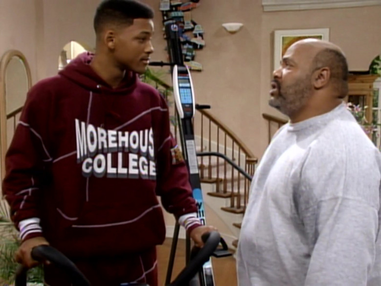 Morehouse College Hoodie Worn by Will Smith in The Fresh Prince of Bel-Air S04E10 (2)