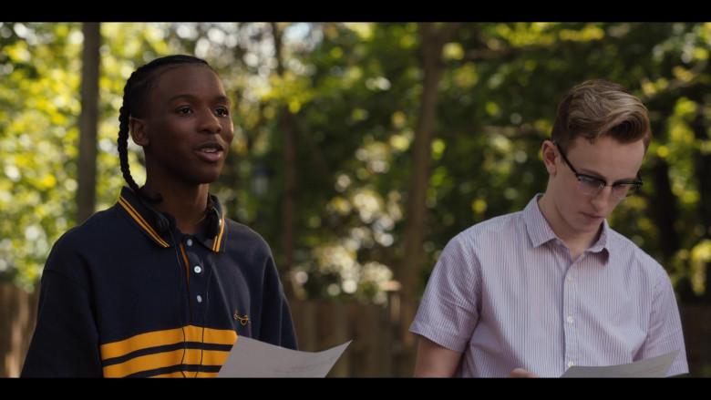 Nathaniel Scarlette Wears Sean John Men's Shirt Outfit in Work It Movie (1)