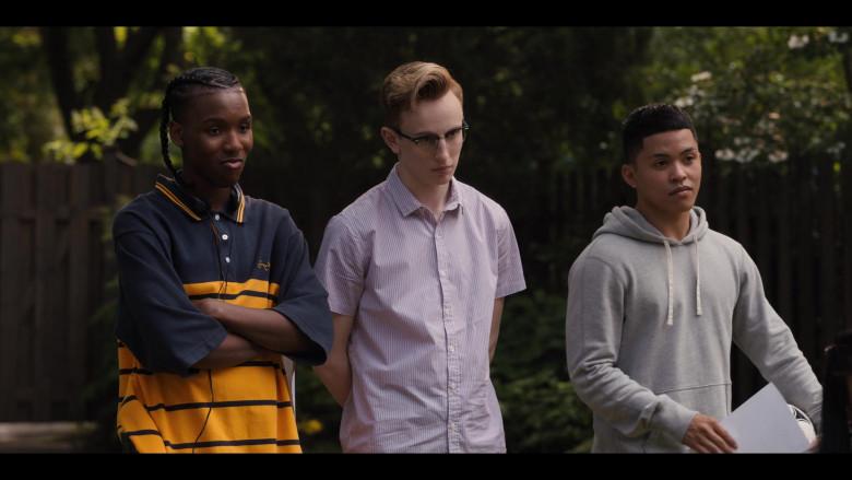 Work It Movie Outfits - Nathaniel Scarlette Wearing Sean John Short Sleeve Shirt (2)