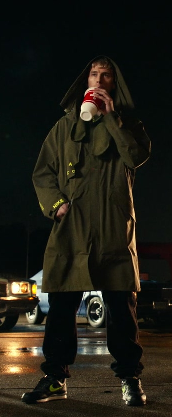 Nike ACG All Conditions Gear Green Jacket Worn by Machine Gun Kelly as Newt in Project Power Netflix Film (2)