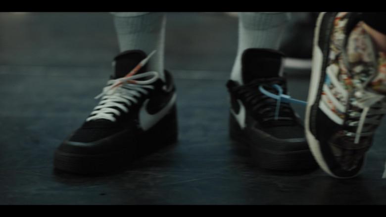 Nike Air Force Black Sneakers in Work It (2020) Netflix Original Movie