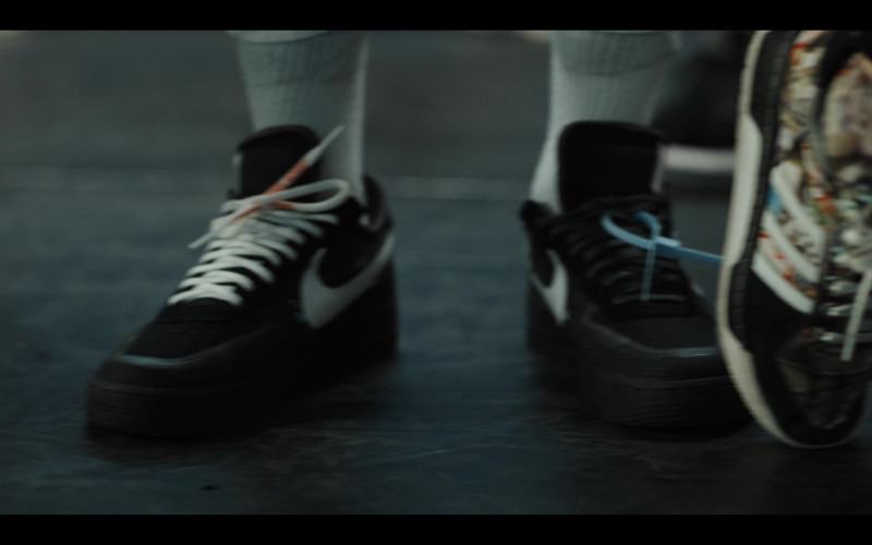Nike Air Force Black Sneakers in Work It (2020) Netflix Original Movie