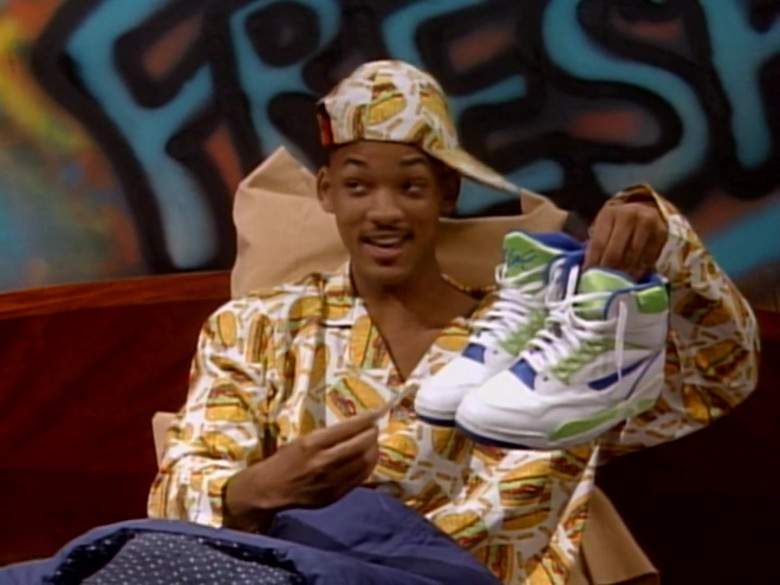 Nike Air Solo Flight '90 Sneakers of Will Smith in The Fresh Prince of Bel-Air S01E13 (2)