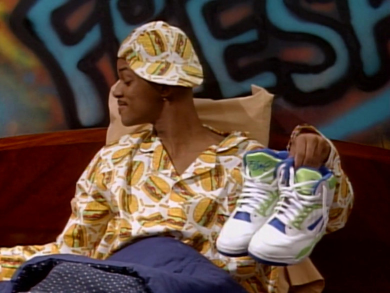 Nike Air Solo Flight '90 Sneakers of Will Smith in The Fresh Prince of Bel-Air S01E13 (3)