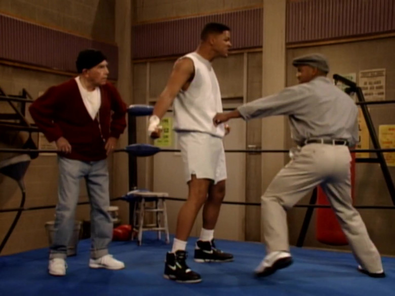 Nike Black High Top Sneakers of Will Smith in The Fresh Prince of Bel-Air S04E26 (1)