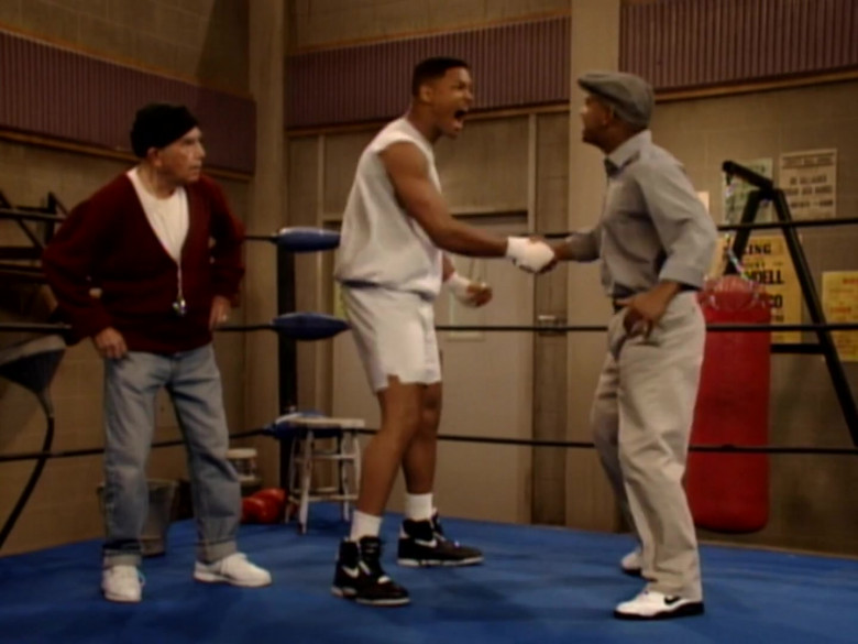 Nike Black High Top Sneakers of Will Smith in The Fresh Prince of Bel-Air S04E26 (2)